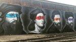 """Mural combina a pintores renacentistas y las """"Tortugas ninja"""" - Noticias de kevin eastman"""