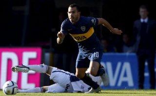 Boca Juniors venció 2-1 a Quilmes en el retorno de Carlos Tevez