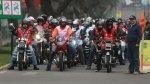 Desfile de motos recorrerá calles del Cercado y de 8 distritos - Noticias de jockey plaza