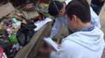 Áncash: trabajadores de limpieza hallaron un feto en la basura - Noticias de municipalidad de los olivos