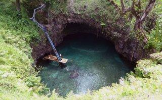 Sumérgete en esta hermosa piscina natural de Samoa