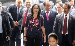 La respuesta de Nadine Heredia al editorial de El Comercio