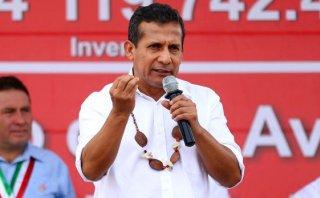 Humala: Nos podrán atacar, pero nosotros estamos trabajando