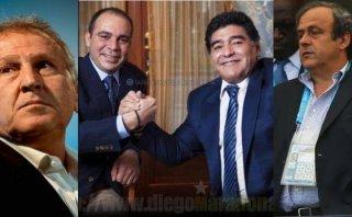 Maradona, Platini, Zico, Ali: se busca presidente para la FIFA