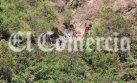 Río Blanco: mal tiempo dificulta búsqueda de trabajadores