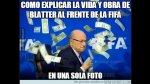 Memes de Blatter sobre el intruso que le lanzó dólares - Noticias de billetes falsos