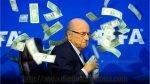 Diego Maradona compartió foto de Blatter con lluvia de dólares - Noticias de maradona