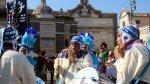 Peruanos realizaron flash mob con danzas típicas en Roma - Noticias de huaylas