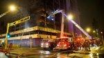Cercado de Lima: simulacro de incendio con fuego real [FOTOS] - Noticias de estación de bomberos
