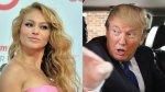 Paulina Rubio arremete contra Donald Trump - Noticias de rob schneider
