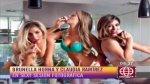 """Brunella Horna sobre sexy sesión de fotos: """"Me costó hacerla"""" - Noticias de lencería"""