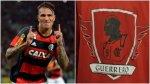 Paolo Guerrero: hinchas de Flamengo le hacen polo estilo '300' - Noticias de paolo guerrero