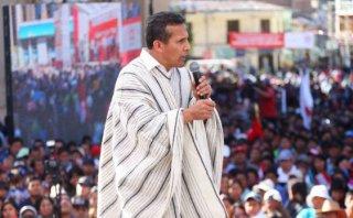 """Ollanta Humala: """"No podemos pelearnos, no hay tiempo"""""""