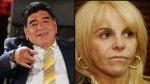 Maradona acusó a su ex esposa de presunto desvío de dinero - Noticias de claudia villafane