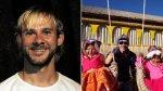 """Dominic Monaghan, actor de """"Lost"""", visitó el Lago Titicaca - Noticias de lost"""
