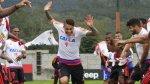 Paolo Guerrero fue 'bautizado' a polazos en Flamengo - Noticias de paolo guerrero