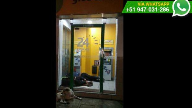 dormir Cajero automático