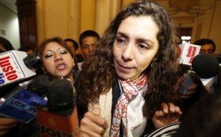 Amiga de Nadine Heredia: Tarjeta de crédito fue riesgo estúpido