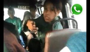 WhatsApp: cobradora de combi da de lactar mientras trabaja