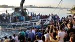 Egipto: Colisión de dos barcos deja 18 muertos en el Nilo - Noticias de muere ahogado