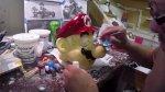 Habitación de bebe convertida en un escenario de Mario Kart 8 - Noticias de mario kart