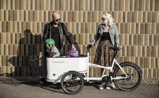 Lleva a tus niños de forma segura en esta original bicicleta