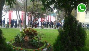 Pedían atención y personal del Minsa celebraba Fiestas Patrias