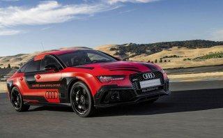 Audi RS7 autónomo rompe récords en circuito