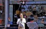 Los drones llegan al delivery y llevan el pan a tu casa