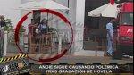 Angie Arizaga continúa grabando telenovela con Nicola Porcella - Noticias de esto es guerra