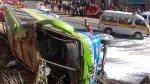 Puno: más de 40 personas resultaron heridas tras vuelco de bus - Noticias de accidente de carretera