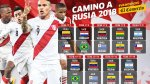 Selección: mira el fixture de Perú en Eliminatorias Rusia 2018 - Noticias de selección peruana