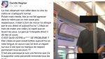 Facebook: actriz francesa denunció acto impúdico en transporte - Noticias de mujeres desnudas