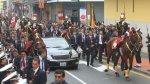 Mira los desvíos por Misa y Te Deum y mensaje presidencial - Noticias de policía de tránsito