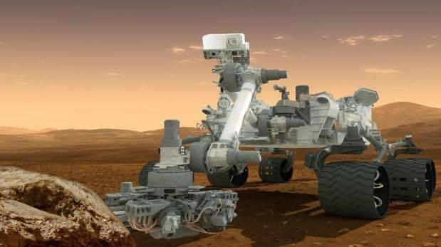 Representación del Curiosity. (Foto: AP)