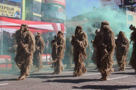 Cusco tuvo desfile cívico-militar por Fiestas Patrias [FOTOS]