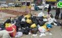 WhatsApp: basura acumulada hace días en VMT indigna a vecinos