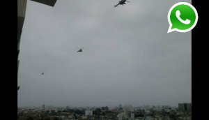 Aeronaves siguen sobrevolando a baja altura en Lima [VIDEO]