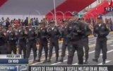 Av. Brasil fue sede de ensayos para la Gran Parada Militar