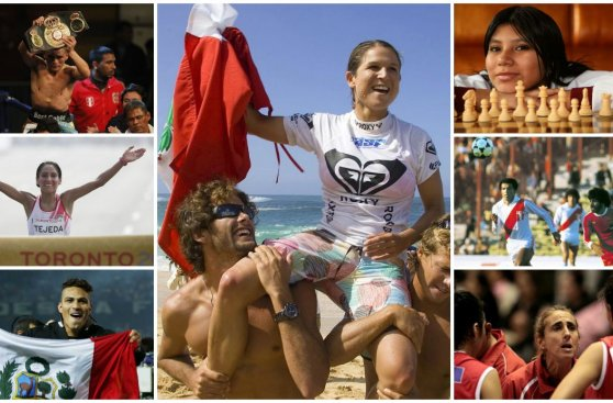 Fiestas Patrias: los 28 deportistas de bandera para recordar