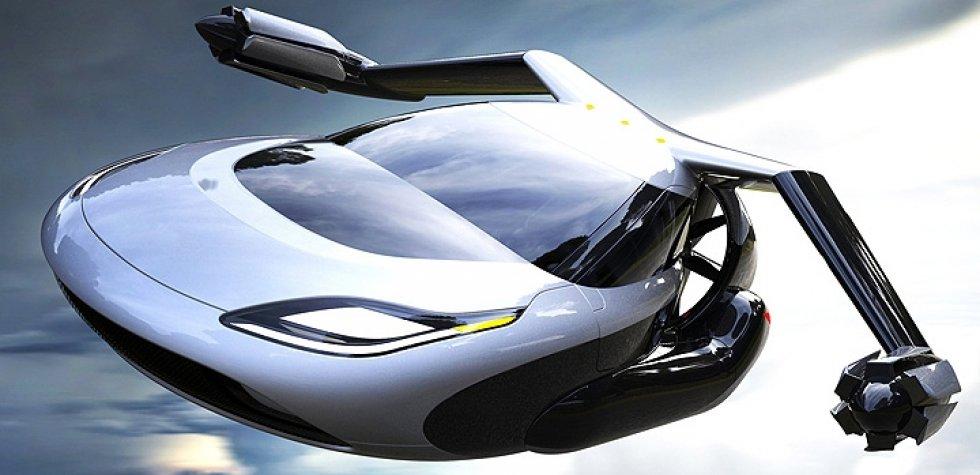 YouTube: Terrafugia TF-X, el auto volador del futuro