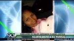Santa Anita: sujeto mató a su pareja de un disparo en la cabeza - Noticias de violencia familiar
