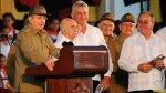 Raúl Castro celebra el 62° aniversario de la revolución cubana - Noticias de famosos ebrios