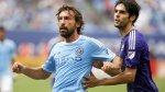 Andrea Pirlo debutó y New York goleó 5-3 a Orlando City de Kaká - Noticias de david villa