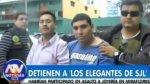 Policía desarticula banda de asaltantes 'Los elegantes de SJL' - Noticias de hector aliaga