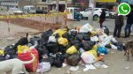 WhatsApp: basura acumulada hace días en VMT indigna a vecinos - Noticias de contaminación