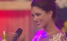 Insólita respuesta de Miss Bolivia provoca burlas [VIDEO]