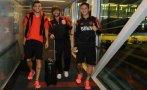 River llegó a México para jugar primera final de Libertadores