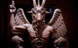 La escultura del diablo que develaron en Detroit