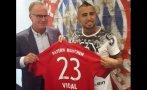 Bayern Múnich: Arturo Vidal firmó con bávaros hasta el 2020